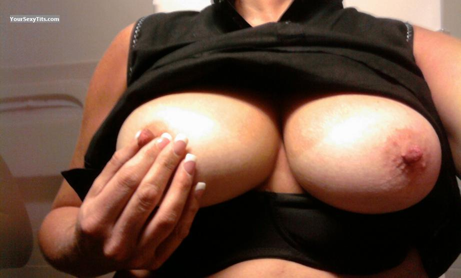 Tit Flash: My Big Tits (Selfie) - Ms Gr8pair from United States